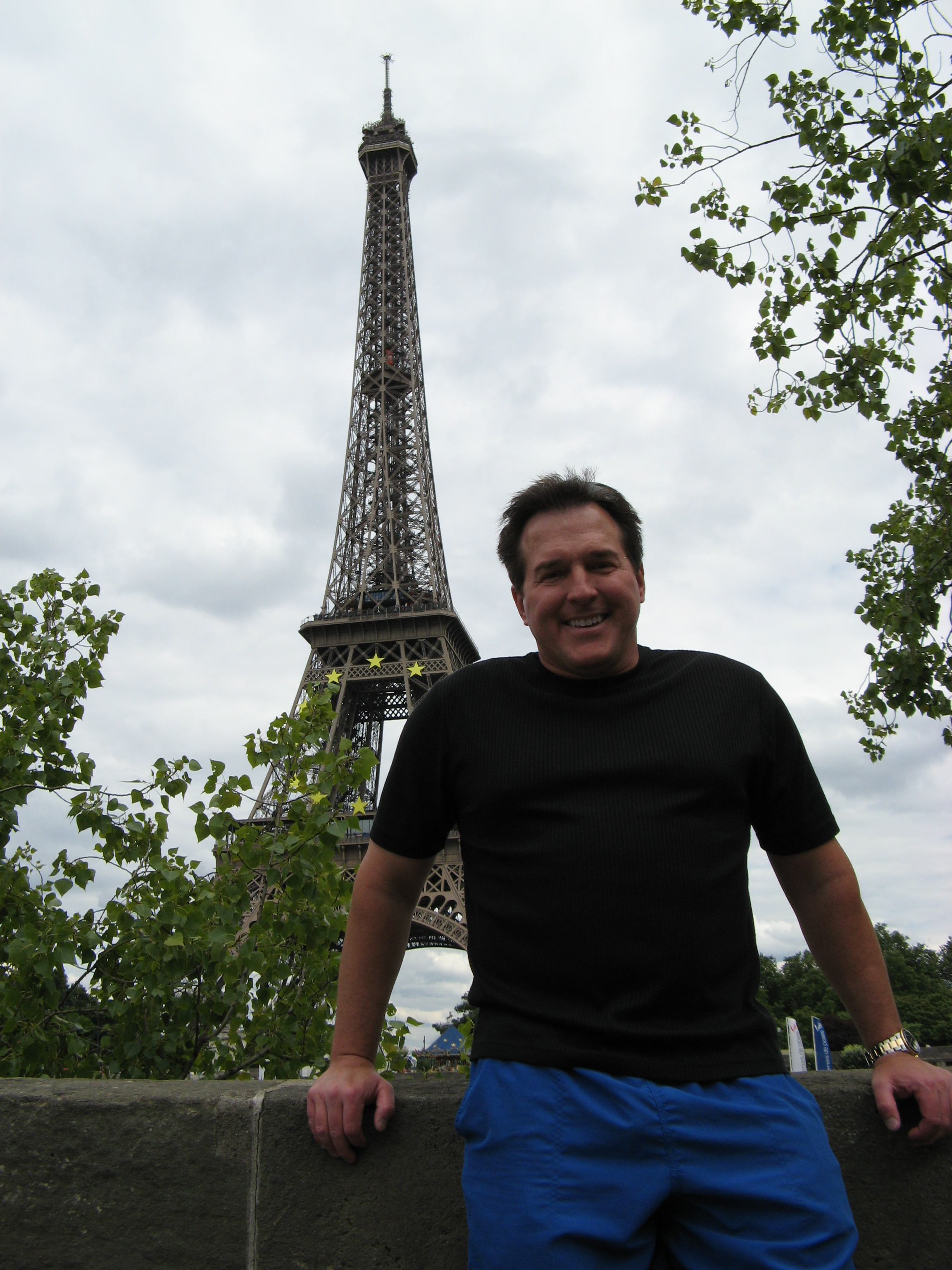 Sommelier Tom DiNardo on a wine tour in France.